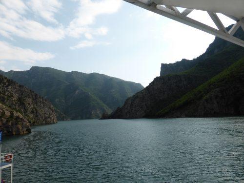 dark blue lake