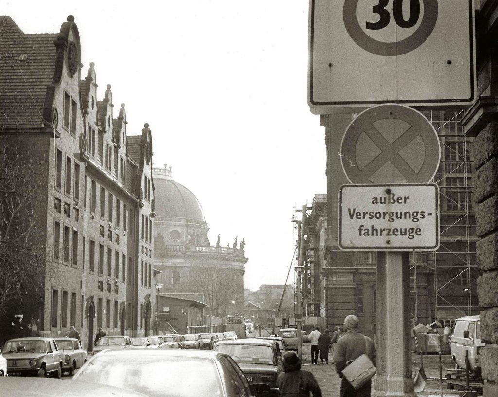 streetview with traffic signs