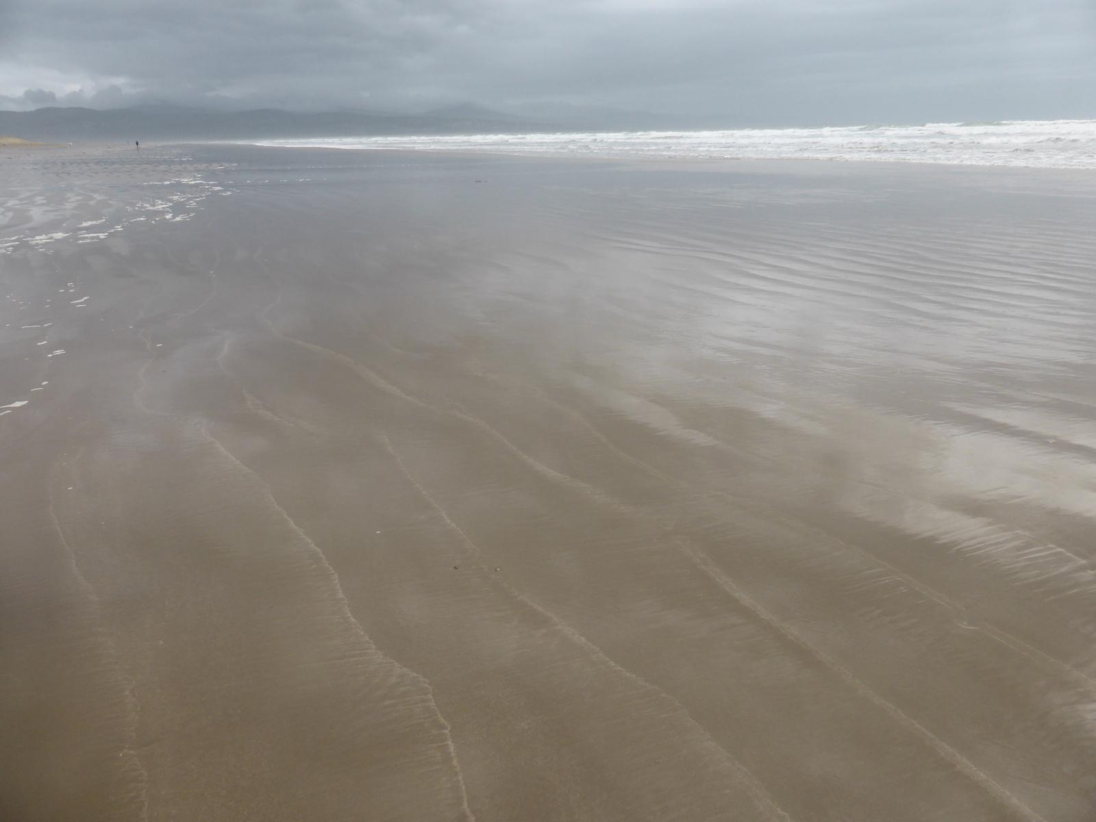 soft long view along beach